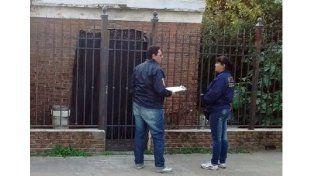 Allanamiento en una causa por estafa que tiene a dos mujeres detenidas
