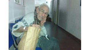 Un abuelo abandonado en un hospital resultó ser un asesino