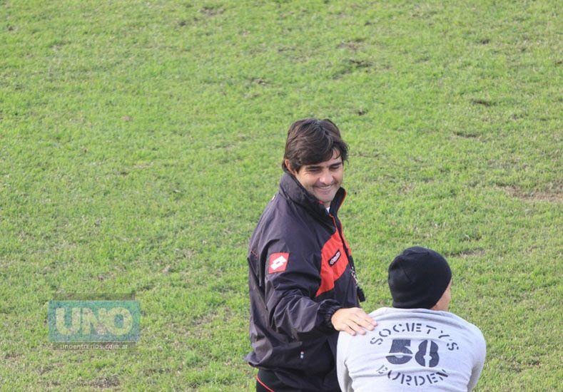 Forestello y la comisión delinearán planes de trabajo para la temporada 2016/17.  Foto UNO/Juan Ignacio Pereira