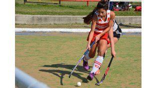 Una de las figuras. Ornella Gasparrini fue una de las jugadoras más destacadas del Rojo para lograr el título.