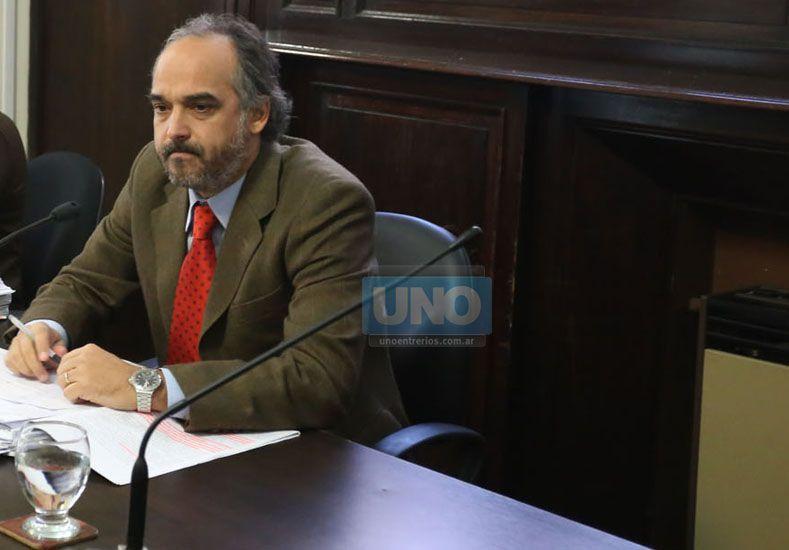 Candioti. Explicó la decisión.   Foto UNO/Archivo