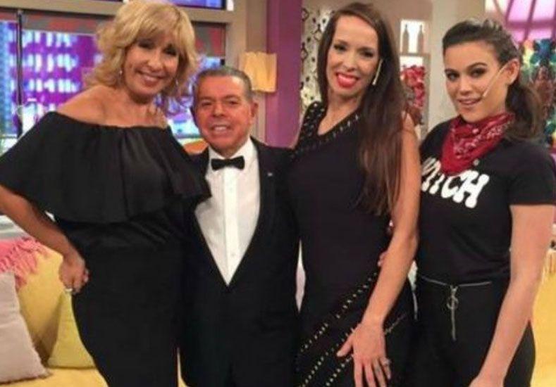 Insólita aparición de Oyarbide en un programa de televisión para repetir su pasito
