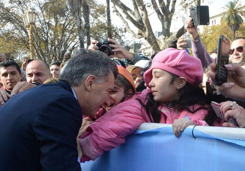 Sincerar la economía ha sido muy duro, dijo Macri.