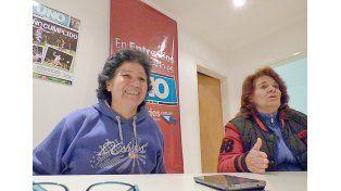 Pasión. Marisel y Mariela viven la orquesta como un trabajo social de cara al futuro de los chicos.