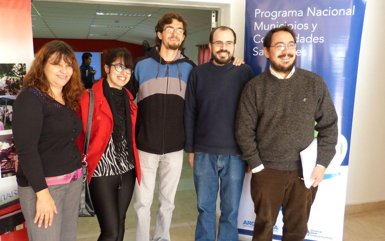 La charla de la doctora Nora Burroni se realizó ayer en Oro Verde. Foto Facultad de Ingeniería UNER.