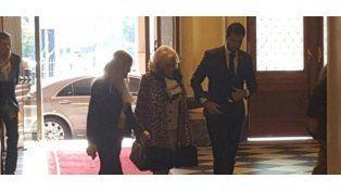 Almorzando con Mauricio Macri: las fotos de Mirtha Legrand en Casa Rosada