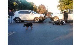 Accidente fatal en Concordia: murió un motociclista