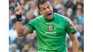 Darío Herrera, el árbitro de la final