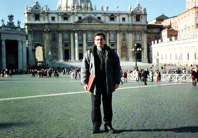 """En Roma. En el """"exilio"""""""
