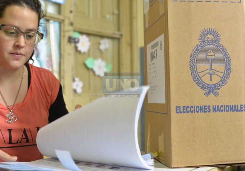 ¿Chau PASO?.El Gobierno avanza en una reforma electoral.  Foto UNO/Mateo Oviedo