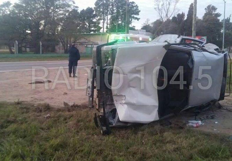 Un conductor atropelló y mató a dos jóvenes a la vera de la ruta nacional 11