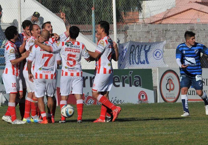 Atlético Paraná ganó en Madryn. Foto: Fútbol para todos