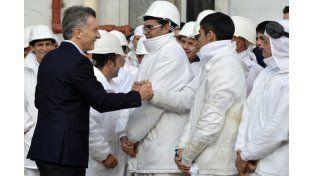 Estamos obsesionados con generar trabajo, dijo Macri a UNO Medios