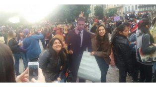 #MarchaBelieber en el Obelisco para pedirle a la Justicia para que Justin Bieber pueda regresar al país