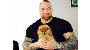 Esta es la mascota del hombre más duro de Game of Thrones