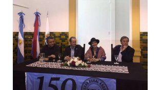 Michetti pasó por Paraná, por el aniversario de la Sociedad Rural