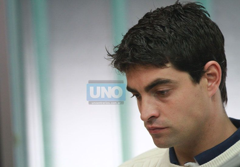 """""""Arrepentido"""". Laporta buscó humanizarse luego de las acusaciones de desaprensión sobre el hecho. (Foto UNO/Juan Ignacio Pereira)"""