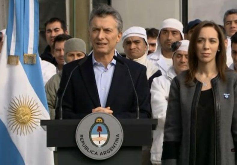 Macri firmó el veto a la ley antidespidos