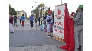 Los profesores eligieron mantener la cautela. Foto UNO Mateo Oviedo.