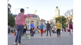 Los profesores creen que la clase pública del martes sirvió para generar conciencia. Foto UNO Mateo Oviedo.