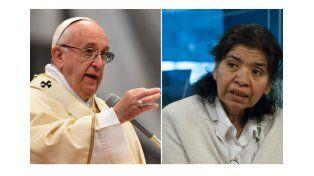 """El Papa invitó a Margarita Barrientos al Vaticano pero ella lo rechazó por """"trabajo"""""""
