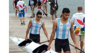 Los hermanos Malaval compiten en la prueba que otorga puntos para la clasificación hacia Río de Janeiro.