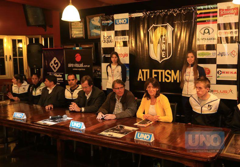 Los organizadores dieron detalles de la prueba que será el miércoles 25. Foto UNO/Diego Arias