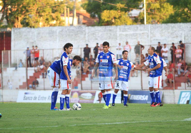 Reynoso indicó que si mantienen el nivel del segundo tiempo ante Unión podrán cortar la mala racha.  Foto UNO/Juan Ignacio Pereira