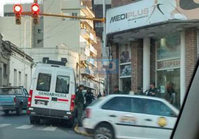 Uno de los locales allanados está ubicado en San Juan 99 de la capital Provincial. Foto: UNO
