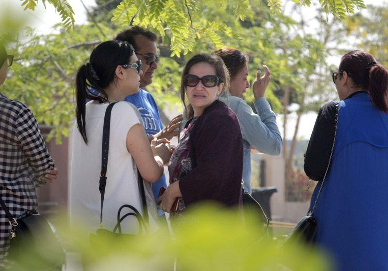 Familiares de los pasajeros. Foto: AP