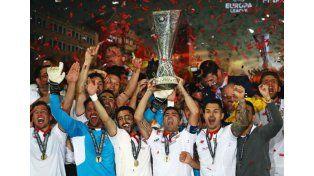 Sevilla se consagró tricampeón de la Europa League