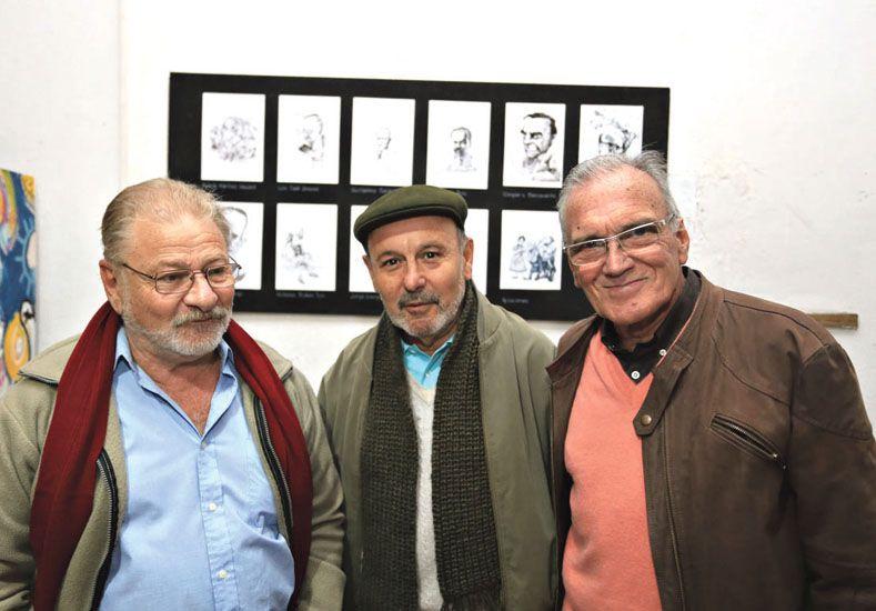 Alfaro y Petersen  presentaron Barriletras