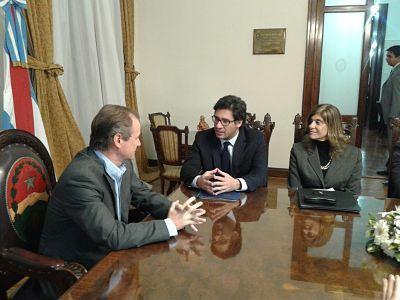 Bordet y Garavano acordaron los puntos de una amplia agenda de trabajo