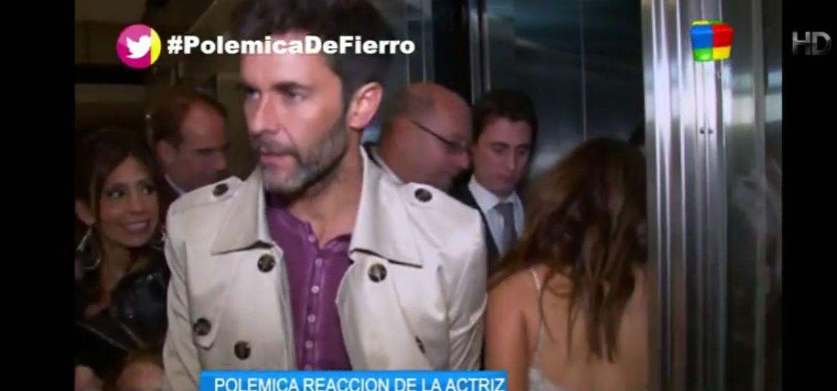 Lali huyó cuando se le apareció Mariano Martínez en la mitad de una nota