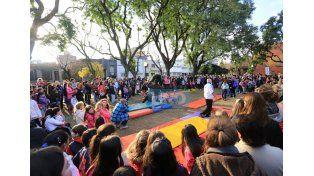 Iniciativas. Hubo diversas actividades para pasar la tarde.  Foto UNO/Diego Arias
