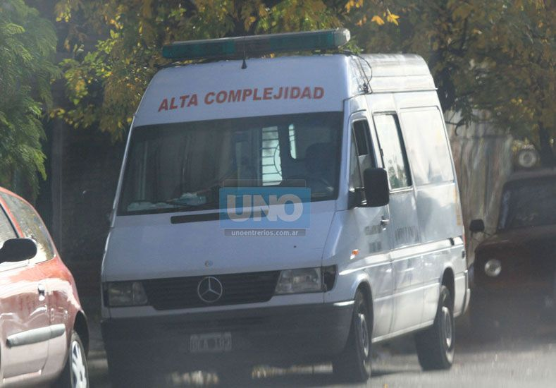 Unidades. Hay semanas en que una sola ambulancia de Paraná realiza 5.000 kilómetros. (Foto UNO/Diego Arias)
