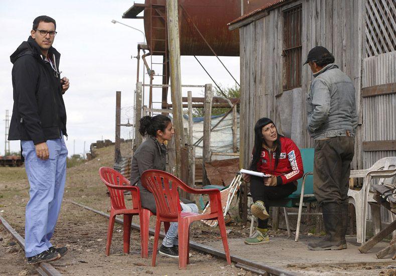 Desarrollo Social de la Nación continúa trabajando con los inundados en Islas del Ibicuy
