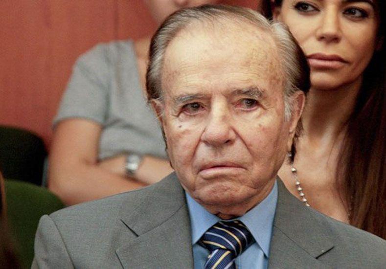 Carlos Saúl Menem. Foto: Télam