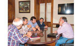 Dirigentes del Soever realizaron gestiones por viviendas en la ciudad de Victoria