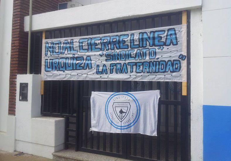 La Fraternidad sigue juntando firmas para evitar el cierre del ferrocarril Urquiza