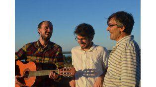 Propuesta. El trío Cuerda Pa Rato propone folclore argentino con arreglos innovadores