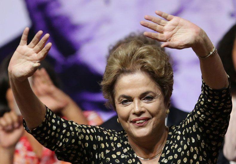 Dilma Rousseff. Foto: AP