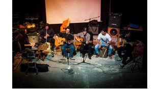 En El Birri de Santa Fe adelantaron algunos temas que luego entraron en el disco.