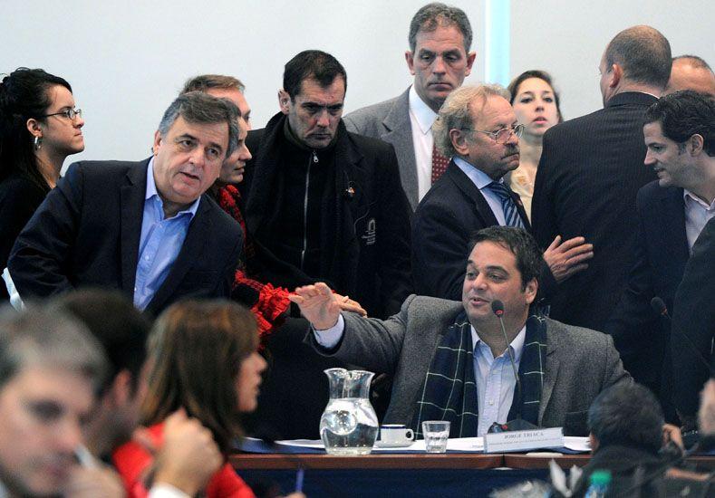 Triaca participó del debate en Comisión y tuvo un fuerte cruce con un diputado del FPV. (foto: Télam)