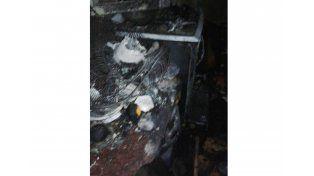 Piden ayuda para una familia de barrio Mosconi que perdió todo en un incendio