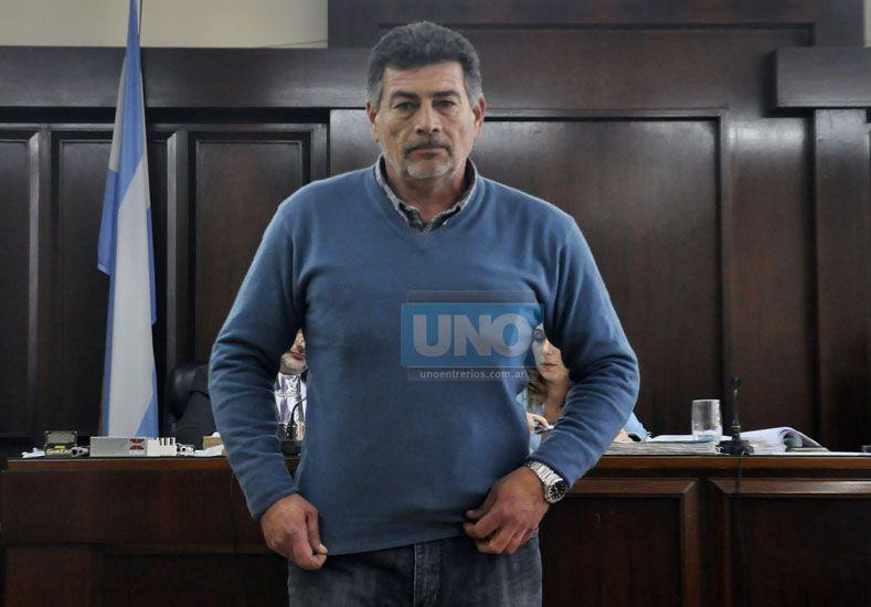 Acusado. El perito del STJ.  Foto UNO/Mateo Oviedo