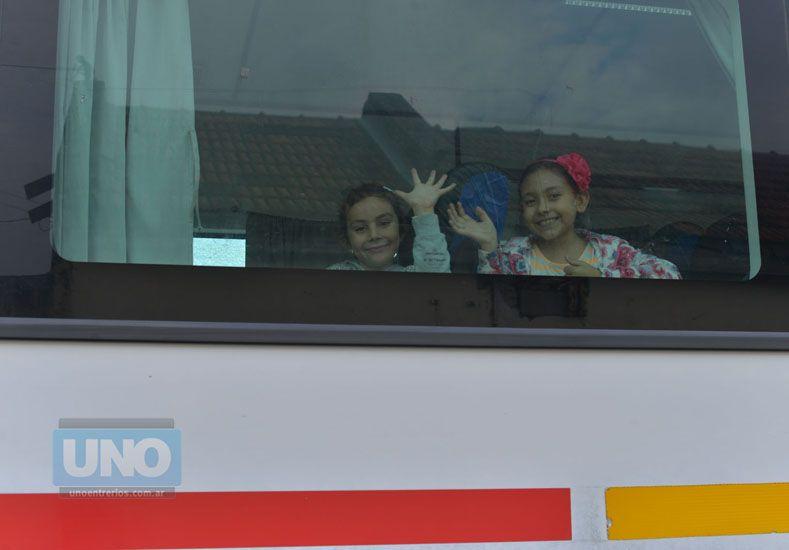 El medio. El tren es una solución para cientos de familias. Foto UNO/Juan Manuel Hernández