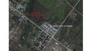 Un chico que vive en las inmediaciones encontró el cuerpo de Gisela