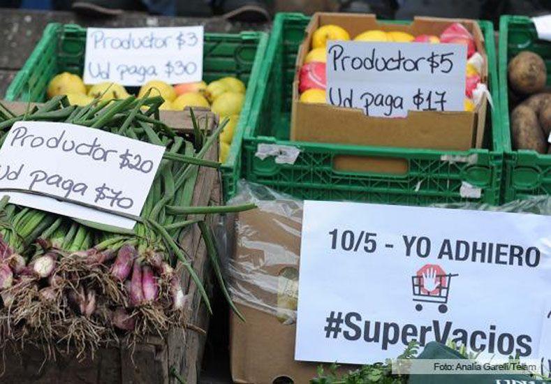 Realizan nuevo boicot a los supermercados y piden la intervención del Gobierno
