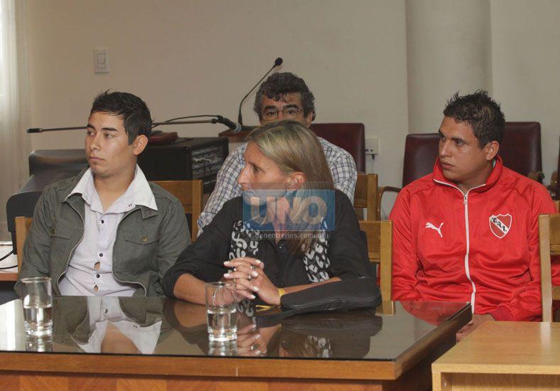 Los acusados. La sentencia anterior fue confirmada.  Foto UNO/Juan Ignacio Pereira